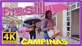 【4K】WALK   Campinas SP walking tour Brazil 4k documentary slow tv reality show travel channel