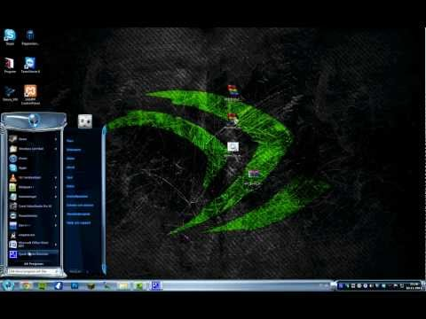 Alienware BREED Theme for windows 7
