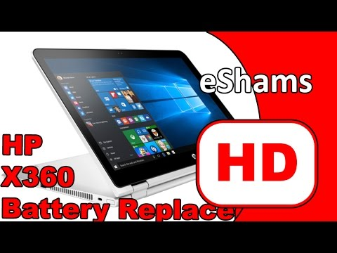HP Pavilion X360 13-U106 13.3 Touch Battery Replacement