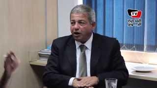 وزير الشباب والرياضة يتحدث عن «الأخونة» فى عهد مرسى