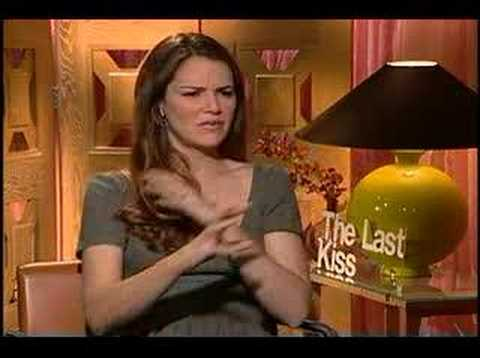 The Last Kiss Jacinda Barrett interview Video