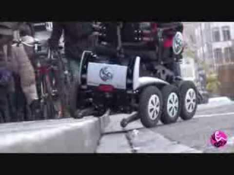 Fauteuil roulant magix de new live youtube - Fauteuil roulant chenille ...
