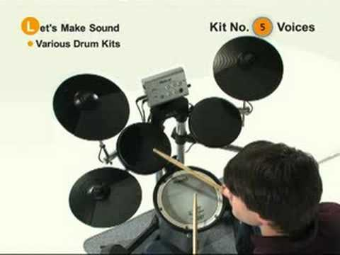 Roland HD-1 Sound Demo - Johnny Rabb