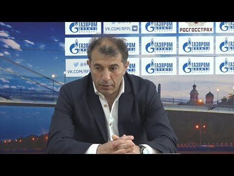 ФК Оренбург 2:1 ФК Терек. Пресс конференция. Рашид Рахимов