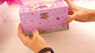 Djeco Pozytywka z księżniczką baletnicą   Djeco Princess Music Box   Unboxing