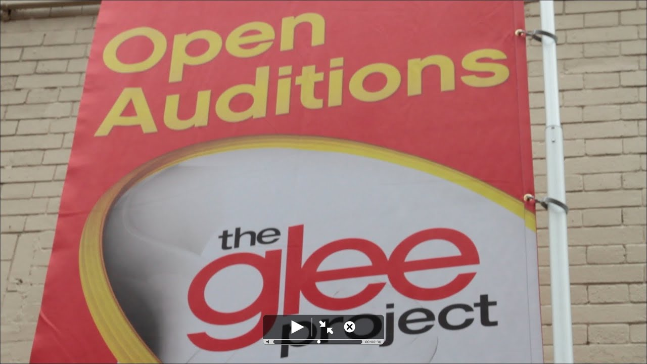 the glee project auditions