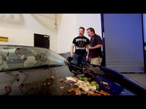 Sheamus takes Alberto Del Rio's luxury car for a spin: Raw, August 6, 2012