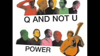 Watch Q  Not U Wonderful People video