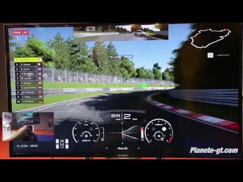 Gran Turismo Sport Gameplay Nurburgring (Direct Sound) - Mercedes AMG GT S