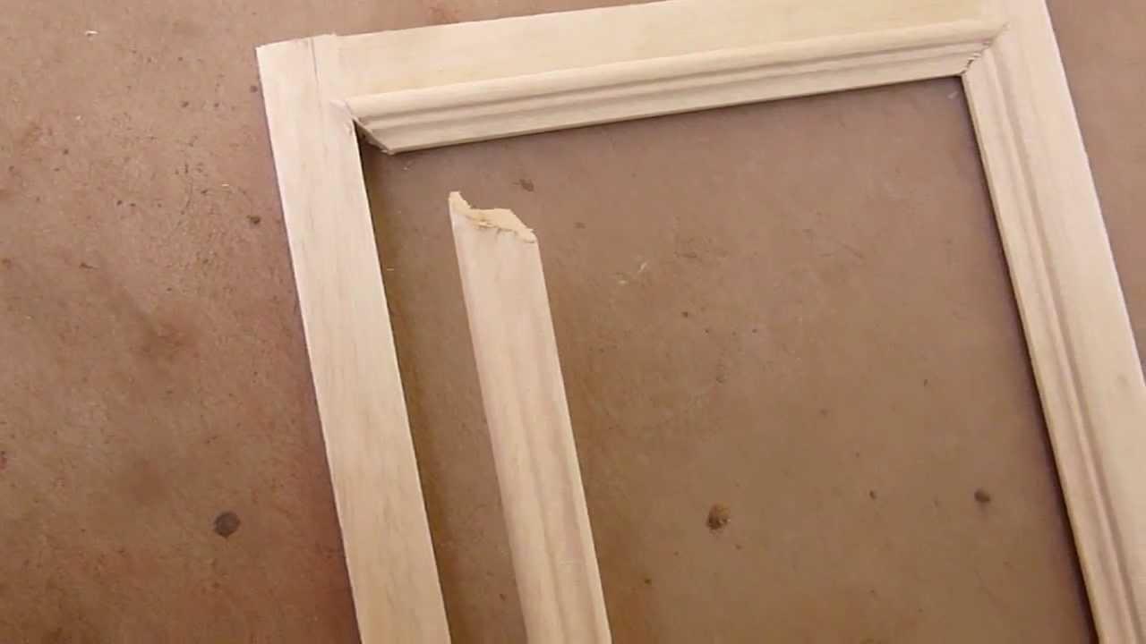 Moldura en alto relieve madera youtube - Molduras para puertas ...