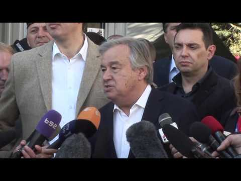 Serbia: UN High Commissioner for Refugees Statement