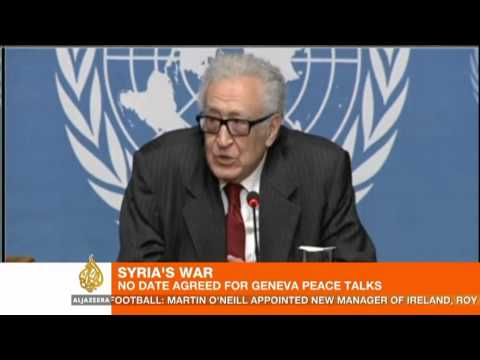 No date set for Syria peace conference