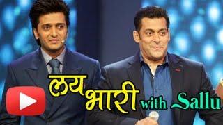 Salman Khan's Marathi Acting Debut With Riteish Deshmukh!