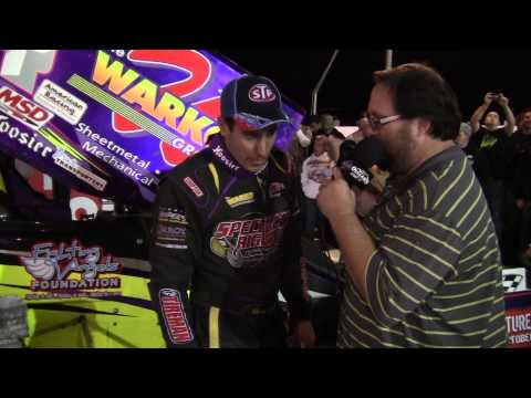 Port Royal Speedway World of Outlaws Victory Lane 10-25-14