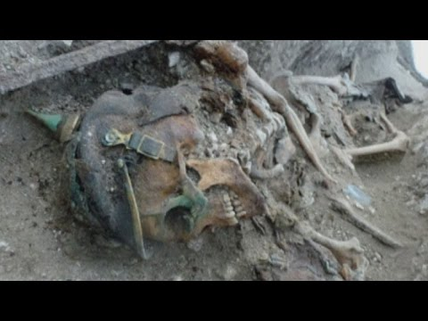 Skeletons Of WW1 Soldiers Discovered In Excavated Former Trenches