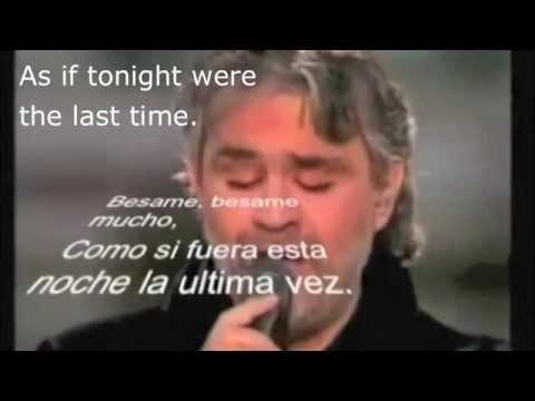Andrea Bocelli - Besame Mucho