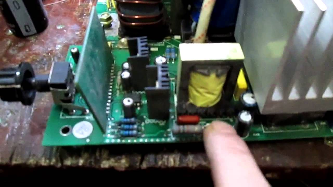 Ремонт инвертора ресанта своими руками фото