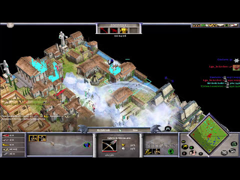 TINY FREAK STYLE 2V2 Online - Age of Mythology The Titans