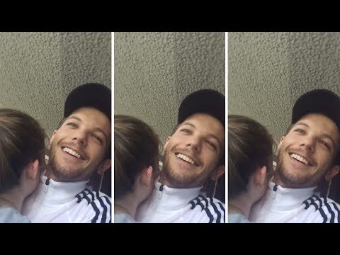 Louis Tomlinson meeting fans in the UK