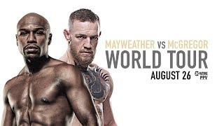 Mayweather vs McGregor: London Press Conference