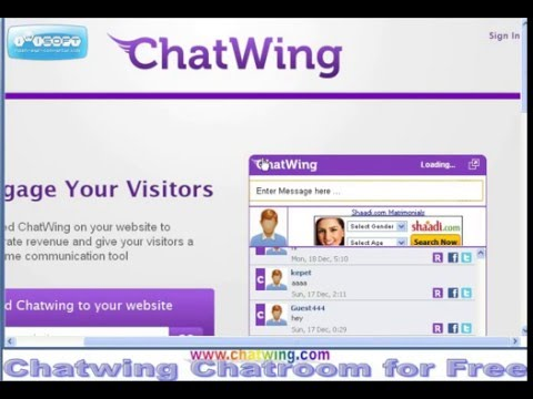 Chatwing Chatroom for Free. Chatwing Chatroom for Free