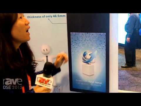 DSE 2015: Asianda Demos Slim 55-Inch Double Sided Display Kiosk