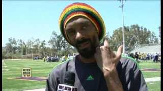 Snoop Lion Talks About Youth Football Camp in Diamond Bar (Exclusive Interview)