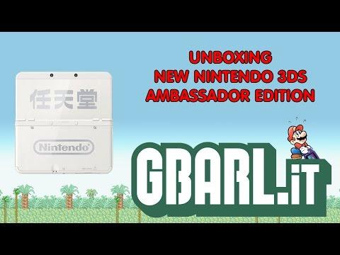 Unboxing NEW Nintendo 3DS Ambassador Edition [GBARL]