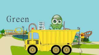 GARBAGE TRUCK For Children / Learn Colors / Colors Song For Children by JeannetChannel