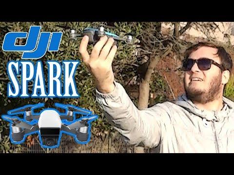 İlk Defa Drone Uçurmak (DJI Spark) VLOG #5