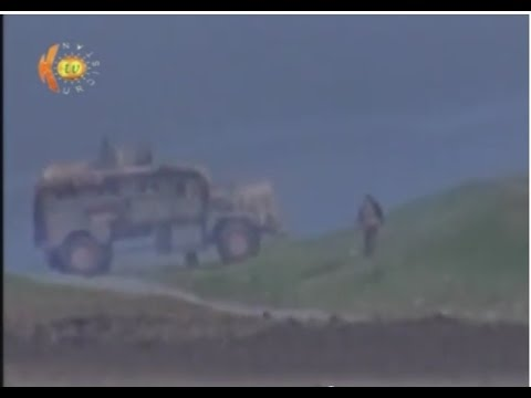 Kurdish Peshmerga Fighters Engaging ISIS in Mosul, Iraq