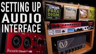 Setting Up Your Audio Interface  | Focusrite Clarett 8Pre