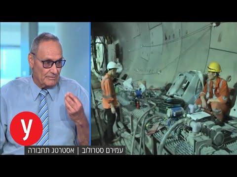 """פרויקט הרכבת הקלה בת""""א יתעכב? ריאיון באולפן עם עמירם סטרולוב"""