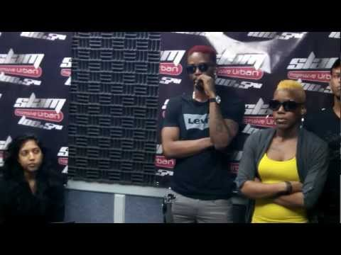 Xixgon Int'l & Konshens live in Trinidad on Slam 100.5 fm
