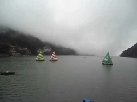 View of Nainital Lake - Nainital Monsoon - Nainital Tourism