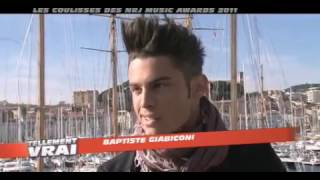 NRJ Music Awards 2011 Baptiste Giabiconi
