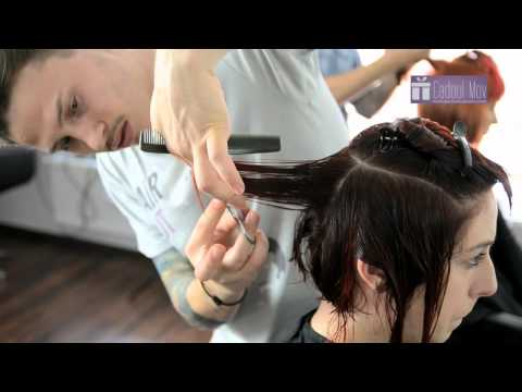 Tunsoare bob  păr  mediu