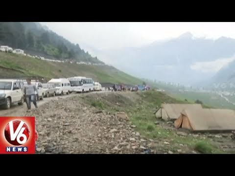 Hostile Weather Halts Manasa Sarovar Pilgrims Evacuation And Rescue Operation | V6 News