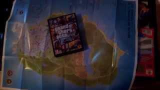 Unboxing GTA V (GTA 5) PC [ 7 DVD´s ]