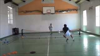 Functional Tennis - Improving speed of serve and volley strategy for tennis players