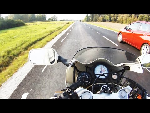 illegal Motorcycle Street Racing. Tuned 2 Stroke Aprilia AF1 Sport. #Real Life GoPro Full HD 2014