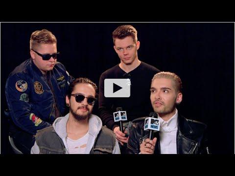 TokioHotel's MTV interview 13.01.2015 part 1-5
