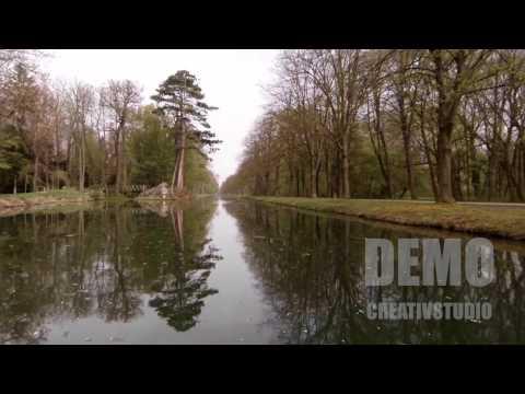 DEMO Flug Schloss Laxenburg DJI Phantom