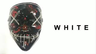 Scary Halloween Masks EL Wire Light Up