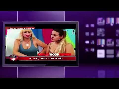 Enemigos Publicos Florcita evita a Susy Diaz en conferencia de prensa 10/06/14