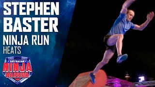 Stephen Baster is the first jockey to attempt the course | Australian Ninja Warrior 2019