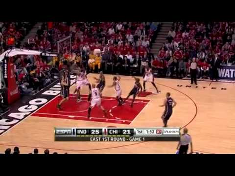 (NBA Playoffs 2011)-Chicago Bulls vs Indiana Pacers Halftime Game 1