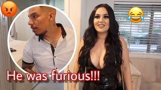I Wore A Scandalous Outfit To See How My Husband Would React!!! Hilarious