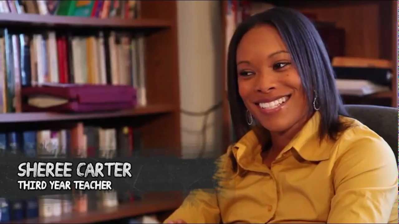teacher talk game  sheree carter interview short 1