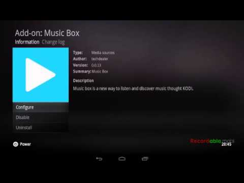 Music box update